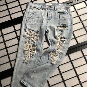 PACSUN. Distressed Boyfriend Jeans